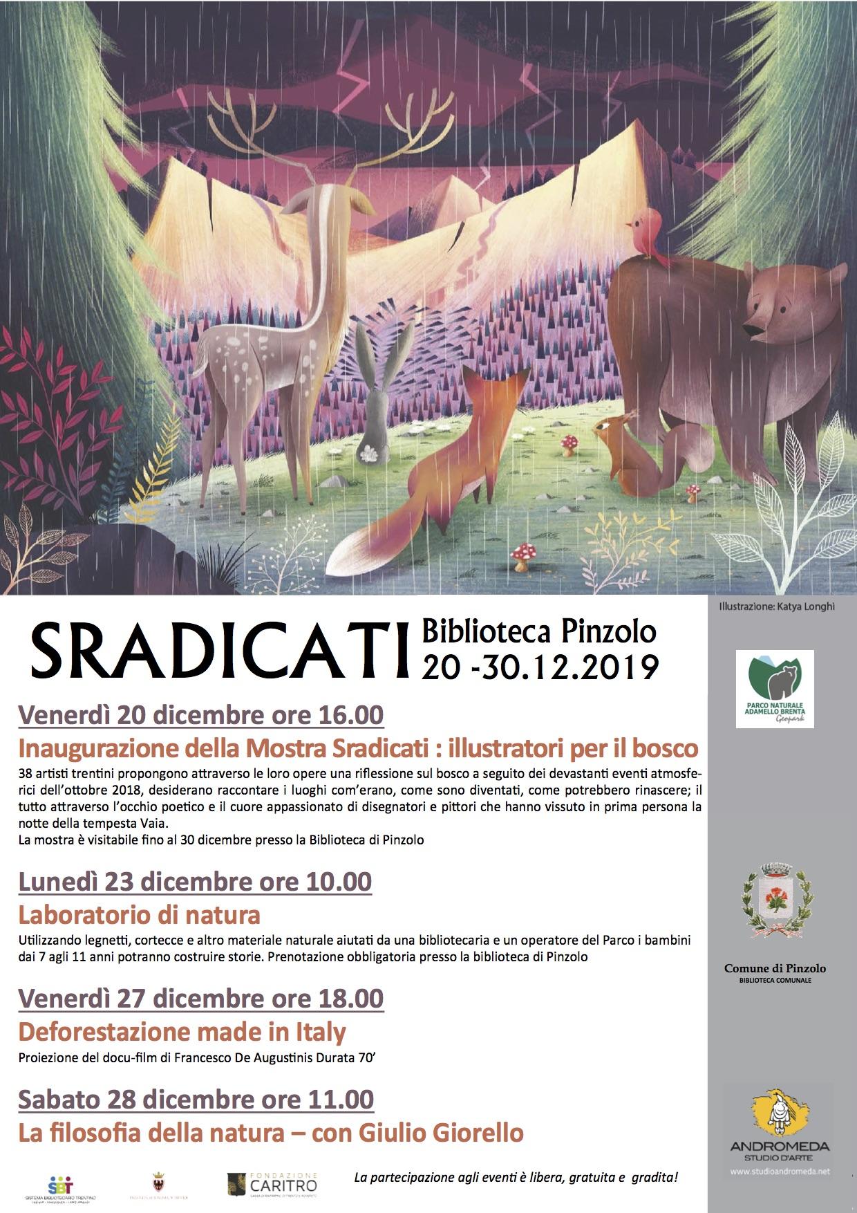 """A Pinzolo apre la mostra """"Sradicati"""""""