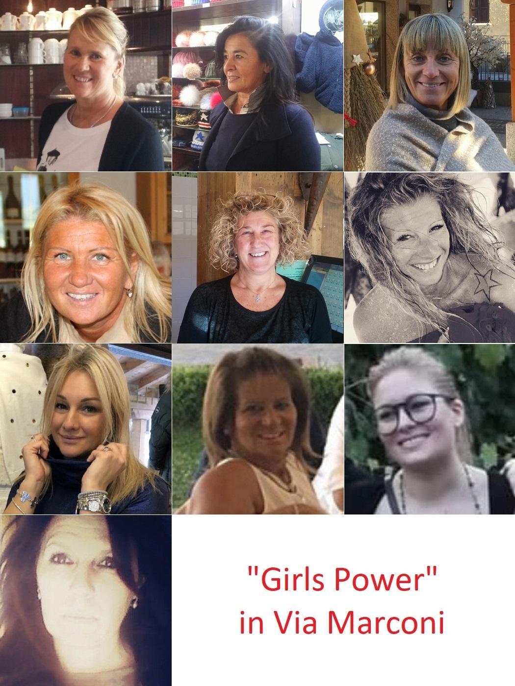 Girls Power, le magnifiche imprenditrici di via Marconi !