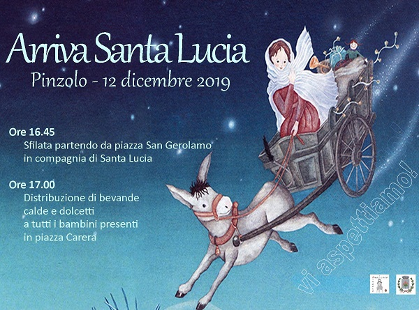 12 dicembre: Arriva Santa Lucia