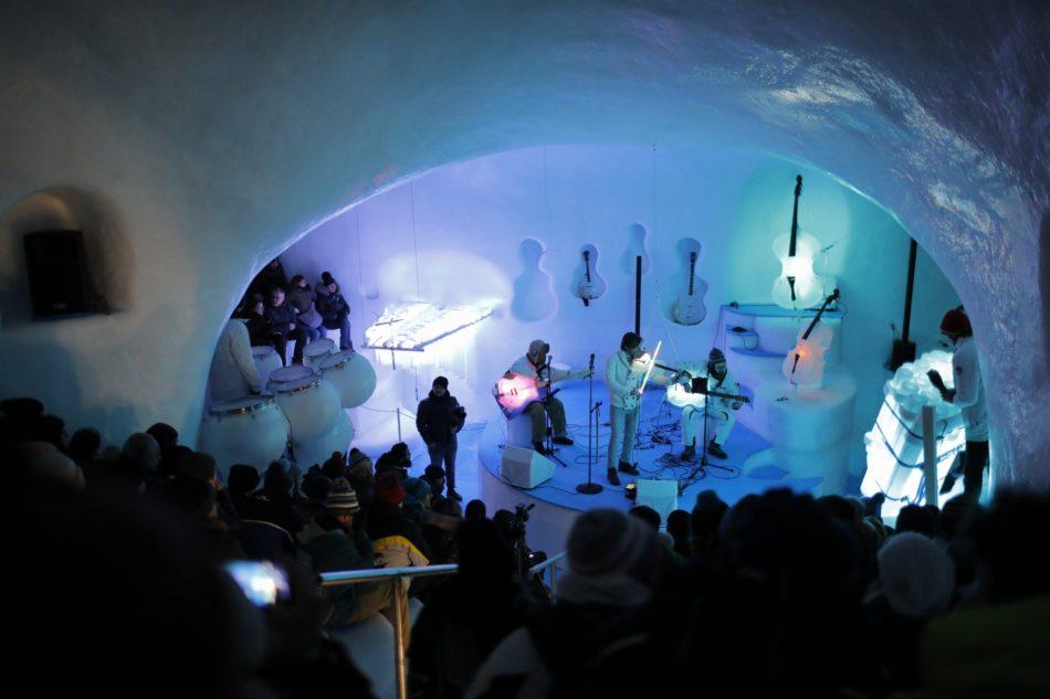 Ice Music Festival: al Presena il ghiaccio diventa suono