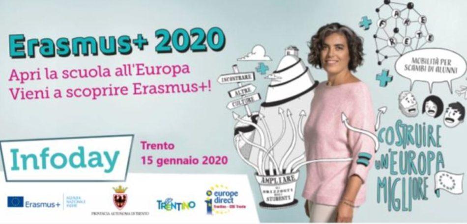 Le opportunità di Erasmus+, mercoledì 15 gennaio una giornata informativa