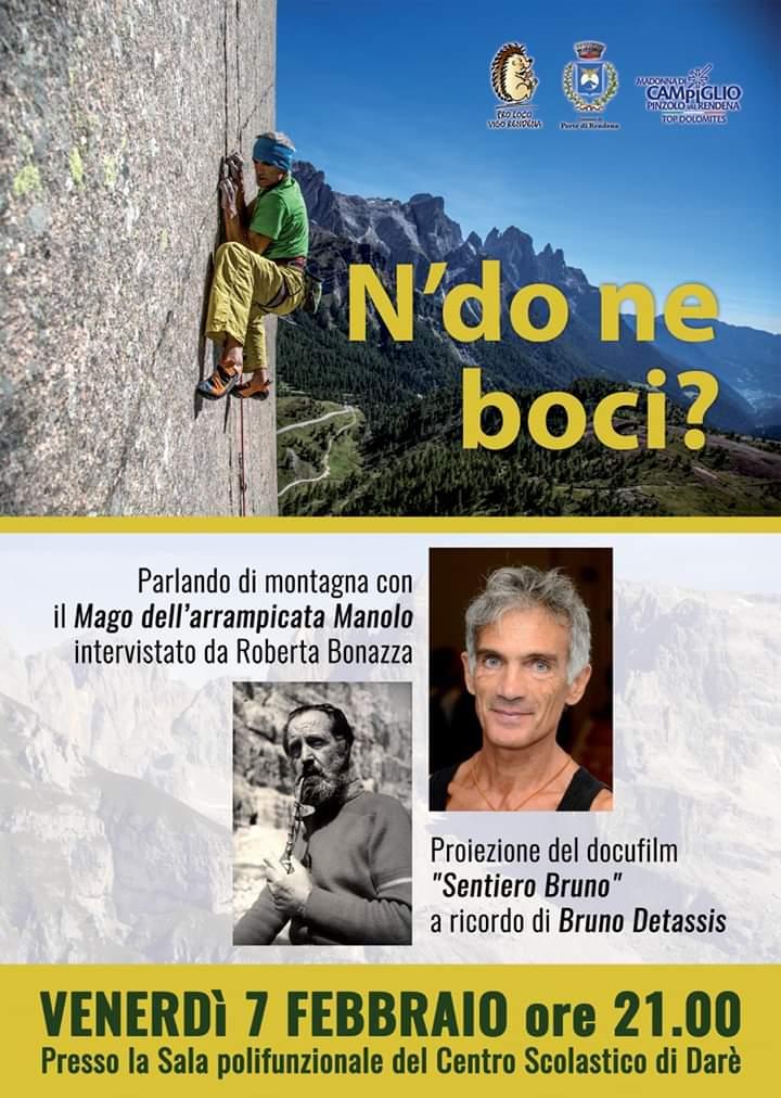 N'do ne boci? Serata organizzata dalla pro loco di Vigo Rendena per venerdì 7 febbraio a Darè