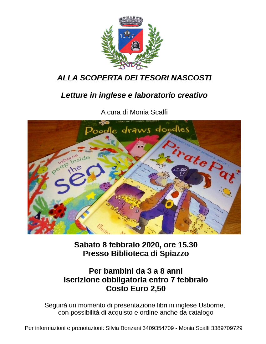 Letture in inglese e Laboratorio creativo