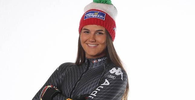 Continua la serie di buone prestazioni della nostra Laura Pirovano: 20° posto nel Gigante di Kranjska Gora
