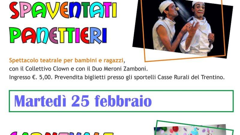 Carnevale Carisolese – Domenica 23 e martedì 25 febbraio