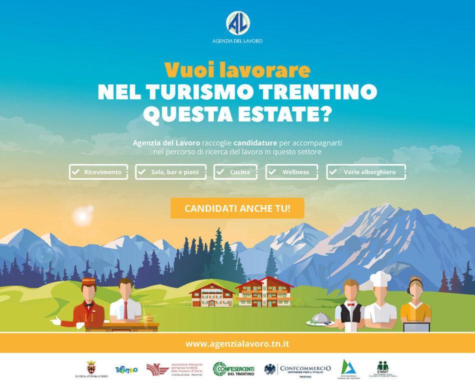 Lavora nel turismo in Trentino questa estate: in arrivo i Career day per lavorare nel settore