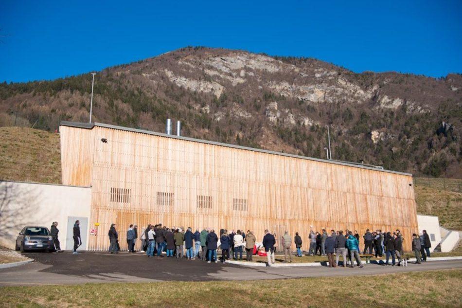 Inaugurato l'impianto di teleriscaldamento del comune di Valdaone