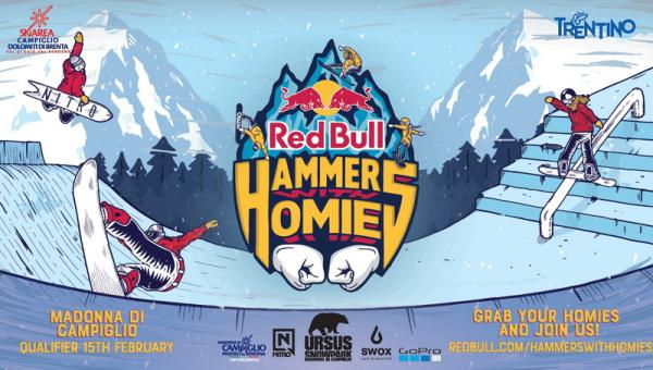 Red Bull Hammers with Homies all'URSUS Park al Grostè