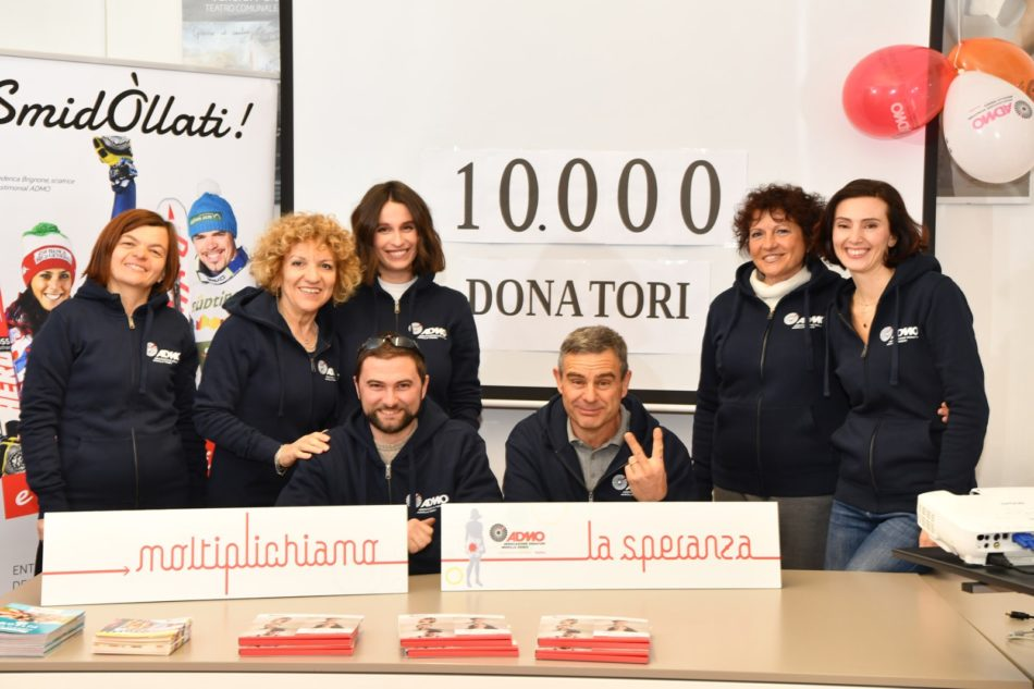 """Admo Trentino taglia il traguardo dei 10.000 soci. La presidente Lorenzini """"Sono speranza di vita per chi combatte le malattie del sangue"""""""