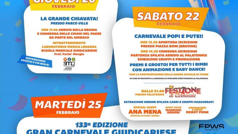 Gran Carnevale Giudicariese – Dal 20 al 25 febbraio a Tione di Trento