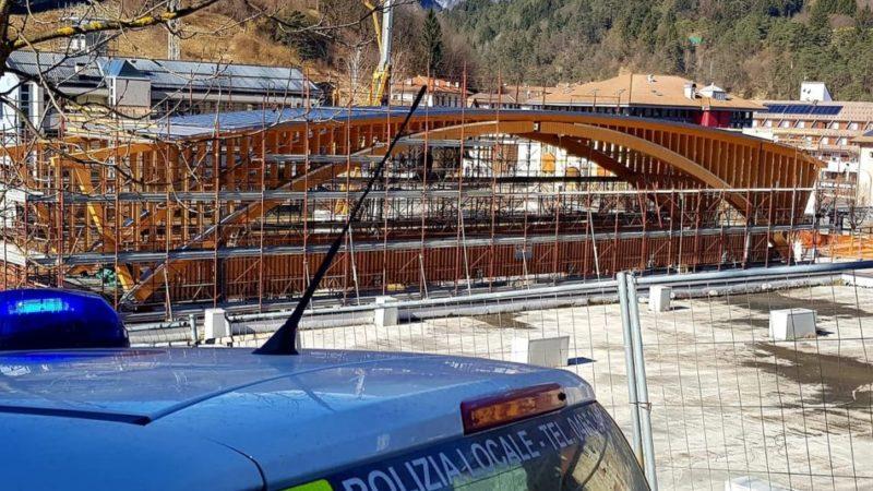 Ponte pedonale sul rio Duina: lunedì 24 febbraio CHIUSURA TOTALE transito a Ponte Arche