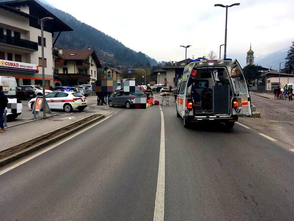 Incidente a Spiazzo Rendena: coinvolto un ciclista