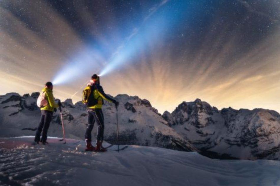 Campiglio: lo sci d'alpinismo è by night, su tracciato dedicato
