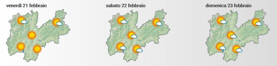 Le previsioni di MeteoTrentino.it