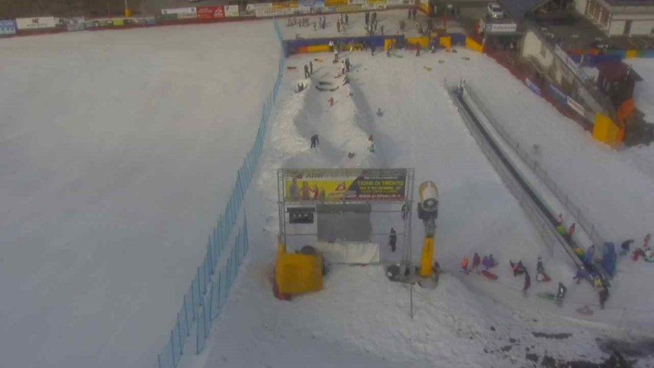 """Le tante polemiche non sciolgono la pista di Bolbeno, ancora perfetta nonostante l'inverno """"anomalo"""""""
