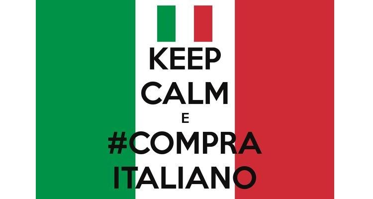 Consumiamo i prodotti italiani per sostenere il nostro Paese