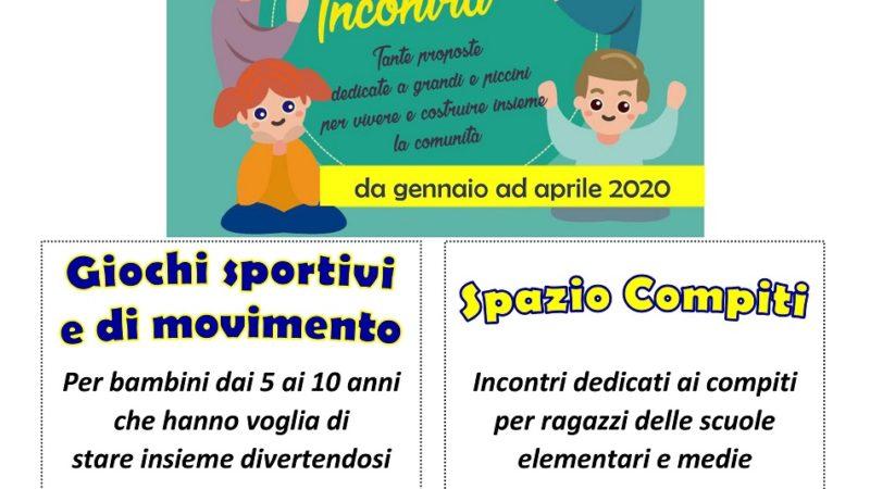 """Attività per bambini e ragazzi """"CARISOLO INCONTRA"""" organizzate presso il centro polifunzionale di Carisolo"""