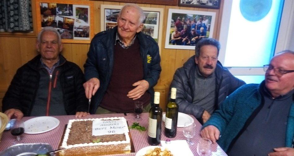 Tutti gli Alpini di Pinzolo sono vicini alla moglie e a tutta la famiglia