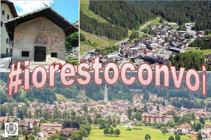 Il Comune di Pinzolo ha avviato una campagna di raccolta di testimonianze #iorestoconvoi