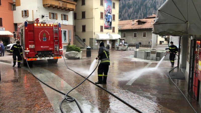 Assessore Giuseppe Corradini: Pulizia e igienizzazione delle aree urbane del Comune di Pinzolo