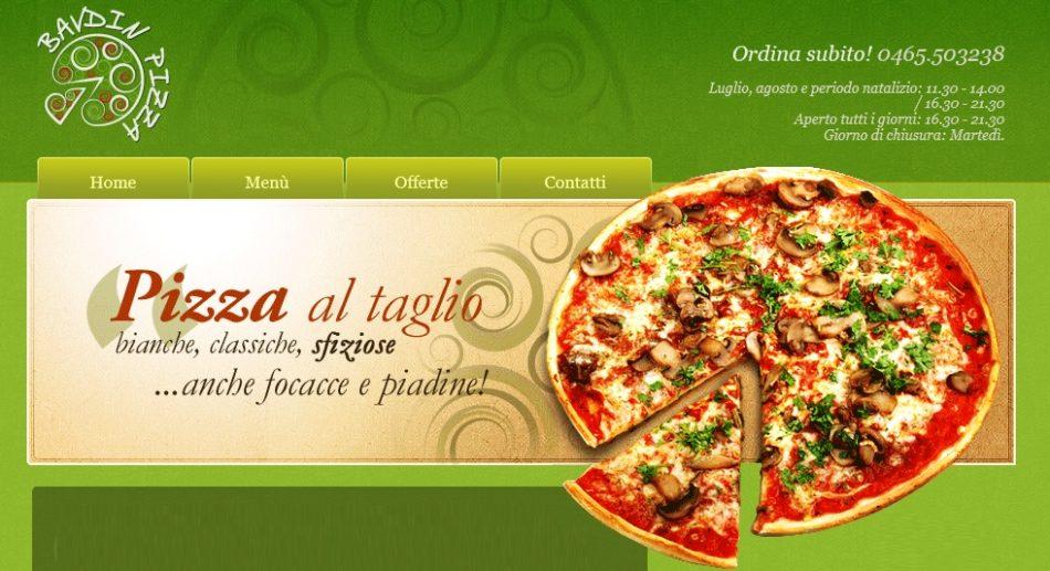"""Anche Elisa e Mauro Salvaterra di """"Bavdin Pizza"""" hanno deciso di adeguarsi al momento difficile e di offrire a tutti i cittadini di Pinzolo, Carisolo e Giustino"""