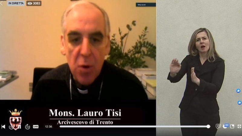 Il messaggio di Mons. Lauro Tisi nella conferenza stampa della Provincia