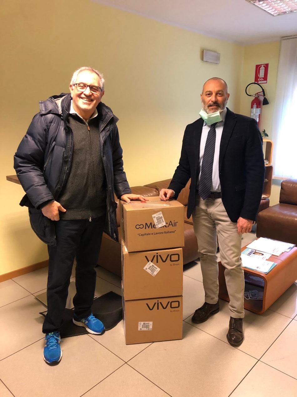 Il Rotary Club Madonna di Campiglio donadue ventilatori polmonari all'Ospedale di Tione