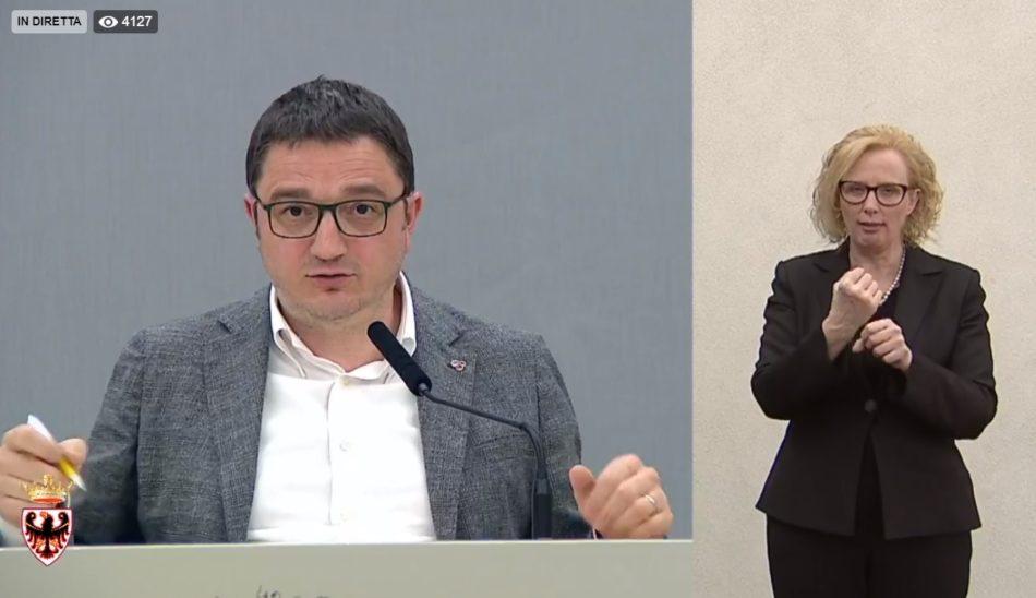 Aggiornamento Coronavirus – Nelle ultime 24 ore ci sono stati 63 nuovi casi positivi in Trentino (di cui 13 nelle Rsa), portando a 3.797 il totale dei contagiati da inizio epidemia