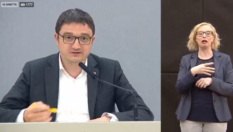 """Aggiornamento Coronavirus in Trentino: Fugatti puntualizza i dati relativi al numero di tamponi effettuati in Trentino confrontandoli con i dati del """"virtuoso"""" Veneto"""