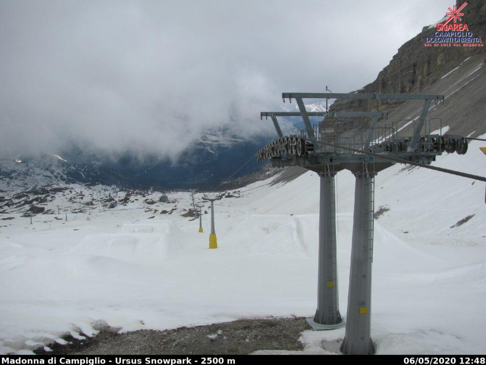 Vi ricordate l'anno scorso il 5 maggio? La neve era caduta fino a 500 metri di quota…
