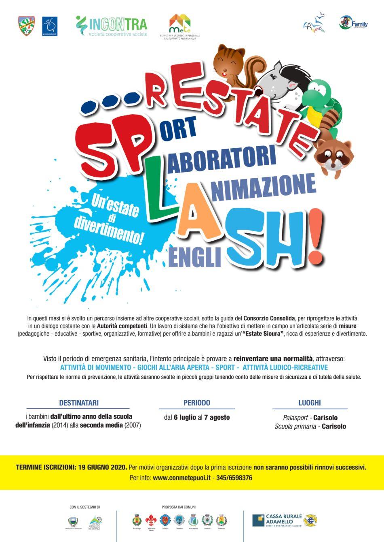 Progetto rEstate SPLASH! 2020
