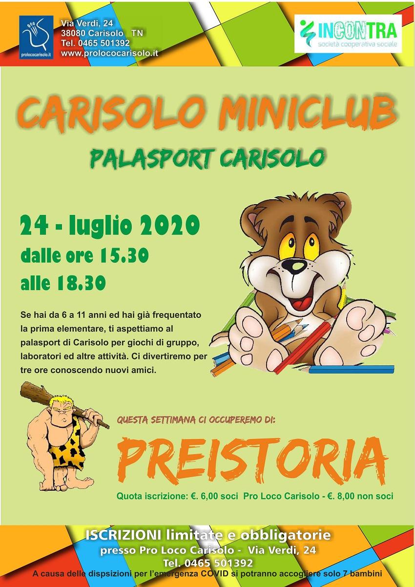 Pro Loco Carisolo – Attività di Miniclub di venerdì 24 luglio