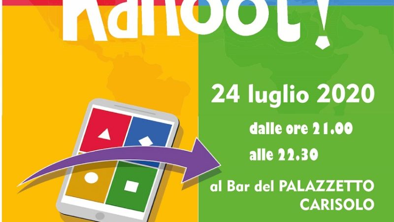Carisolo – Passa una divertente serata con noi sfidando amici e conoscenti con il tuo smartphone