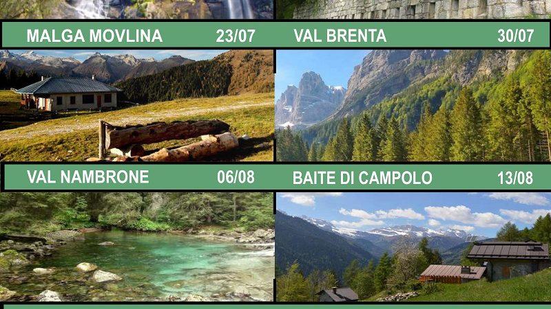 Pro loco Carisolo escursione di giovedì 9 luglio con Michela Collini