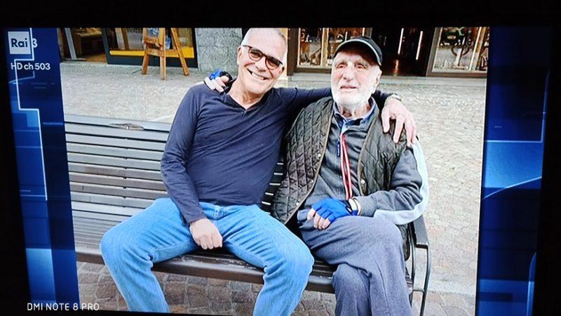 Il prof. Alberto Zangrillo incontra Cesare Maestri a Madonna di Campiglio