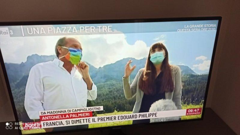 """Madonna di Campiglio: alla trasmissione televisiva """"Agorà Estate"""" su RaiTre si parla di orsi"""