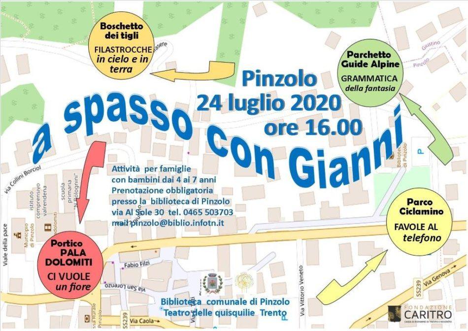 A spasso con Gianni – Pinzolo, 24 luglio ore 16.00