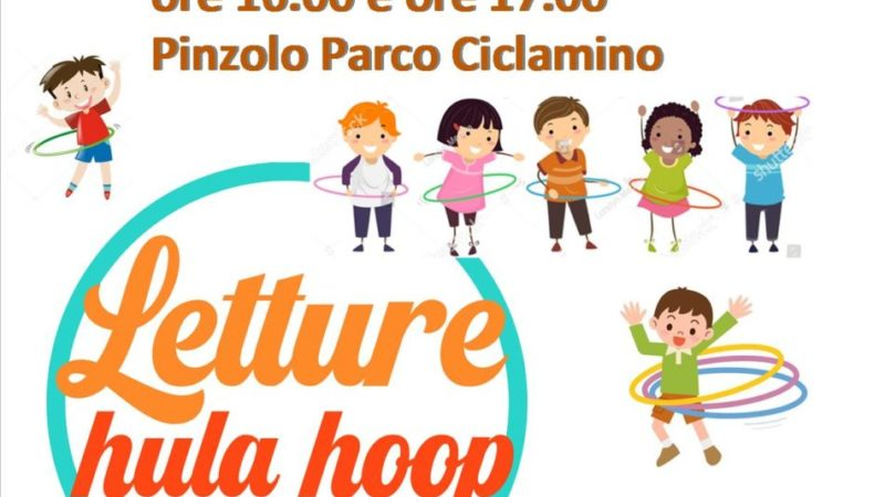 Letture Hula hoop nel parco Ciclamino