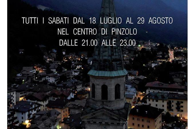Pinzolo by night… negozi aperti. Tutti i sabati dal 18 luglio al 29 agosto nel centro di Pinzolo dalle 21.000 alle 23.00