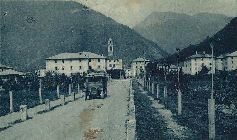 Viale di Pinzolo - 1910