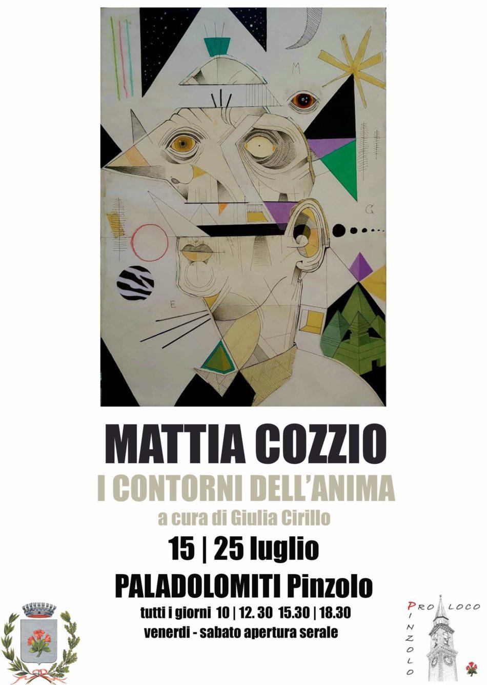 Mostra di Mattia Cozzio – I contorni dell'anima – dal 15 al 25 luglio al Paladolomiti
