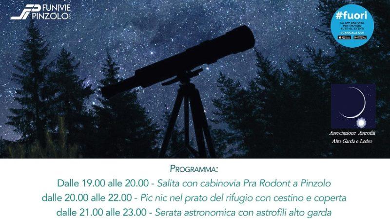 """""""Occhi alle stelle"""" – Serata G-Astronomica Rifugio Pra Rodont"""