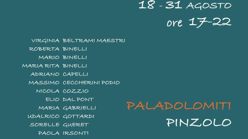 Artisti in Rendena – Dal 18 al 31 agosto 2020 al PalaDolomiti