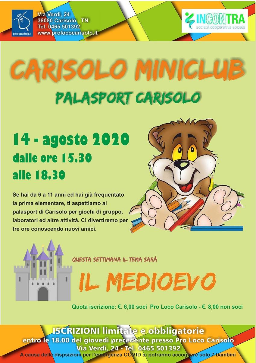 Carisolo Miniclub – Palasport Carisolo