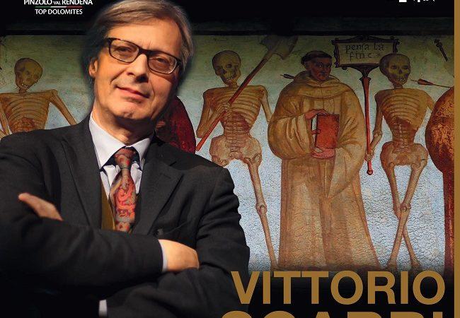 Vittorio Sgarbi racconterà le opere dei Baschenis in Val Rendena – 8 agosto 2020 ore 18.00
