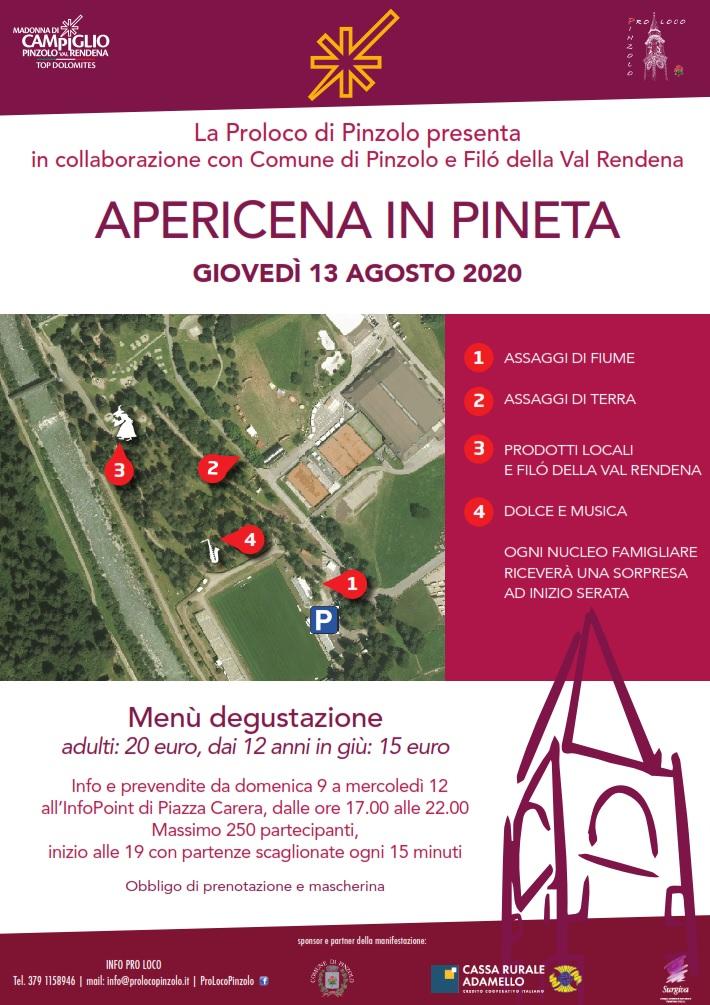Apericena in Pineta – 13 agosto 2020