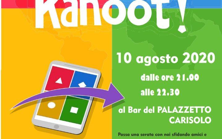 Kahoot al bar Palazzetto di Carisolo