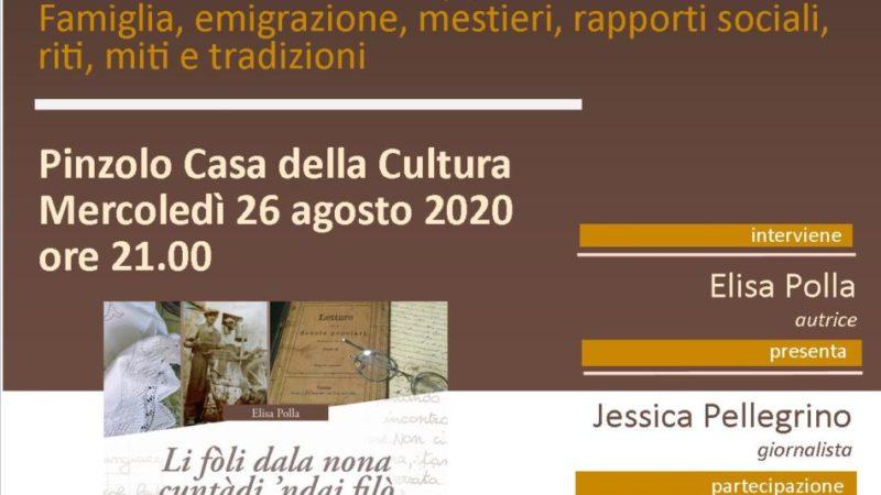 Presentazione libro di Elisa Polla