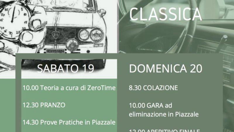 IMPARANDO LA REGOLARITÀ' CLASSICA SULLE DOLOMITI