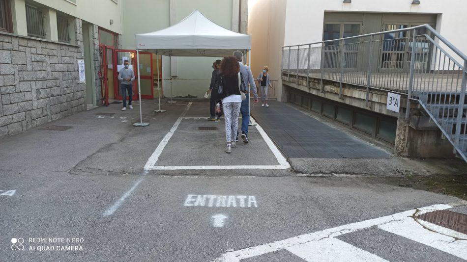 Grande affluenza di elettori ai seggi di Pinzolo